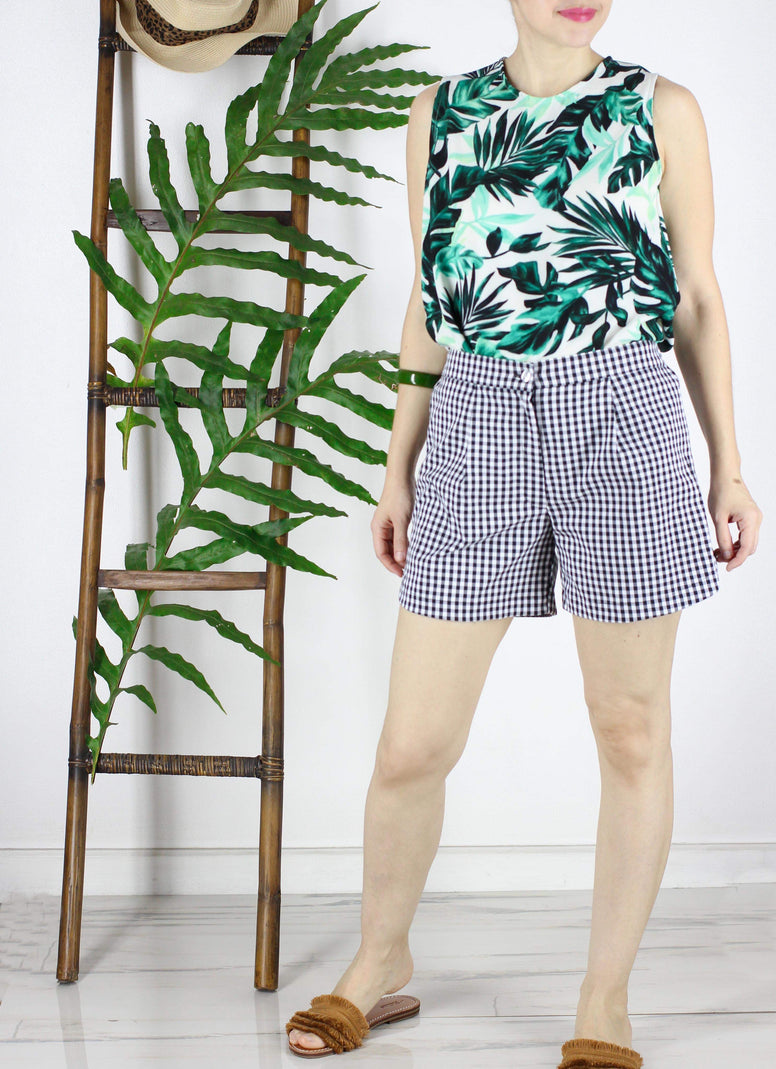 Emmet Top in  Summer Greens