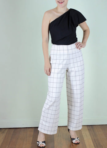 Carine Pants in White