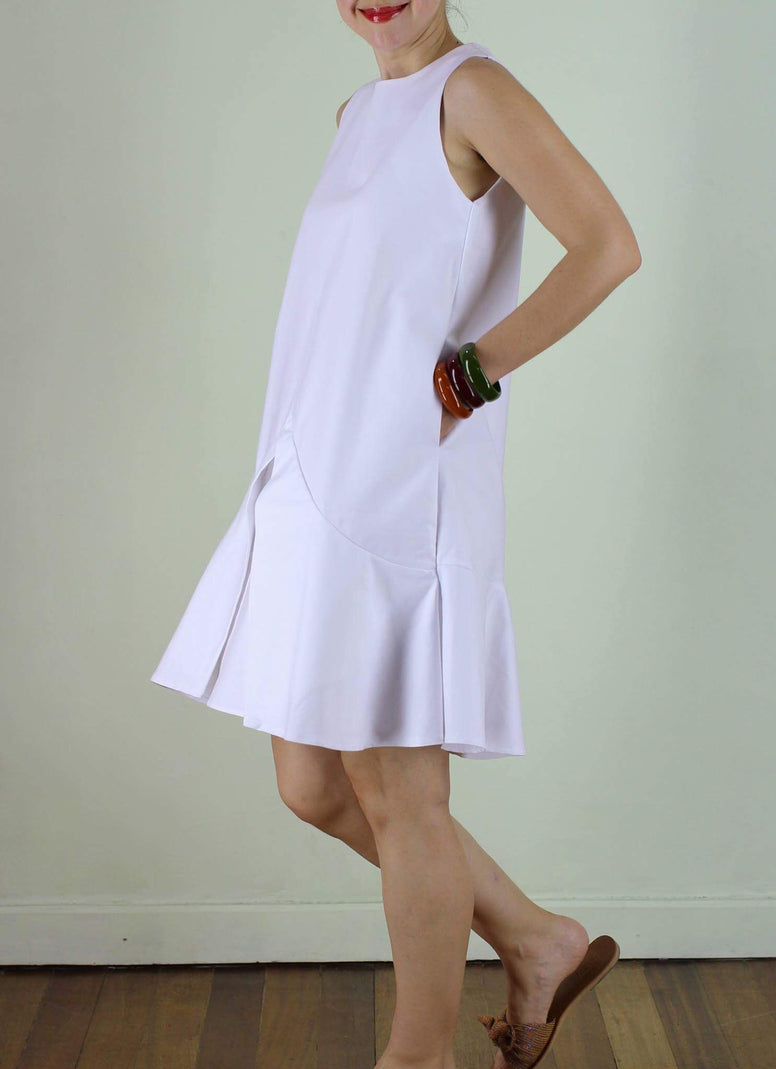 RESTOCKED Cairo Dress in White