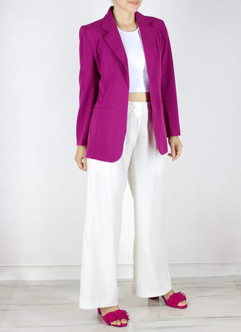 Georgia Blazer in Berry