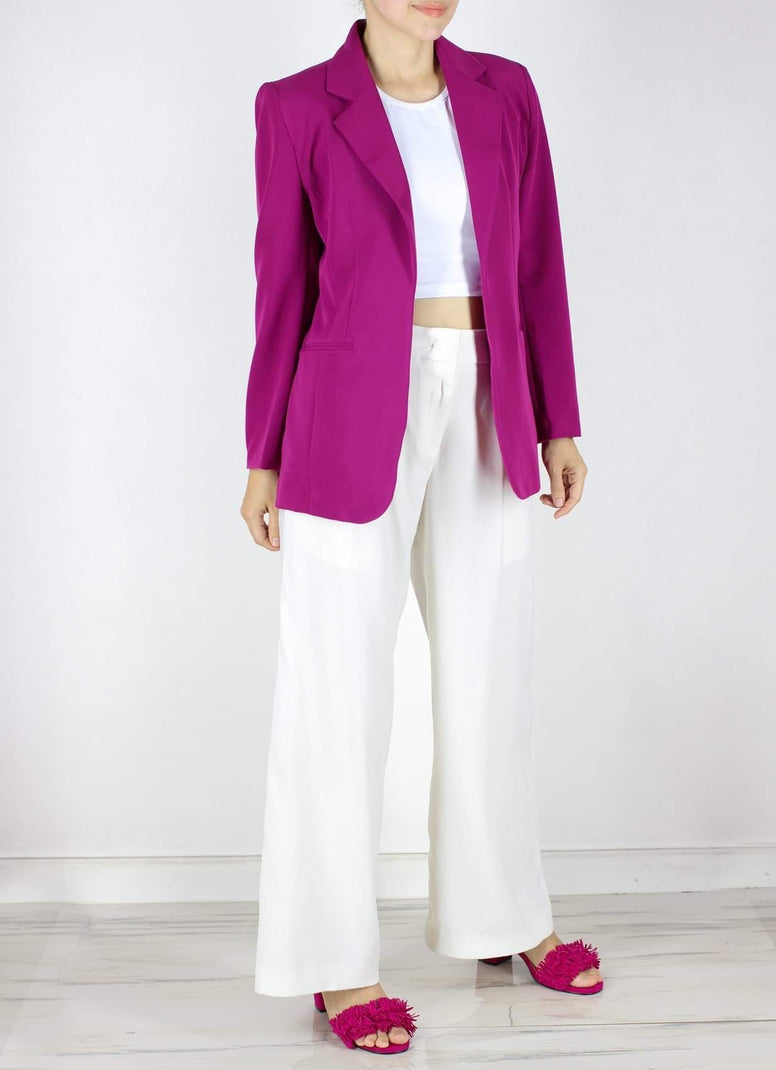 SOLD OUT Georgia Blazer in Berry