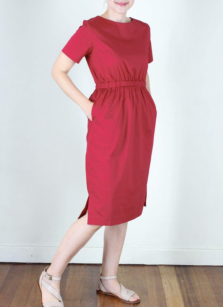 LAST PIECE : Lewis Dress in Red