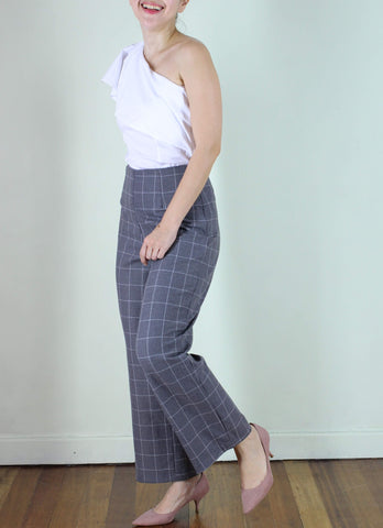 Carine Pants in Gray