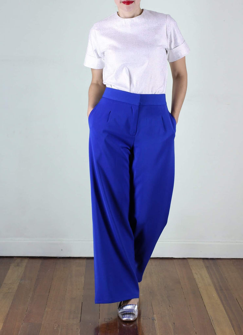 RESTOCKED Hansel Pants in Blue
