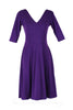 Albertina Ballerina Dress in Purple