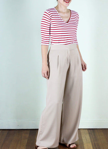 Hansel Pants in Khaki