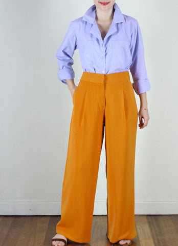 Hansel Pants in Orange