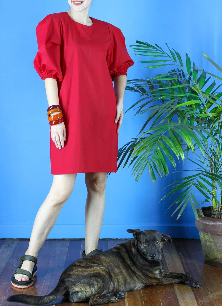 George Dress in Red