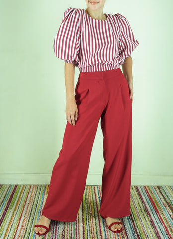 Hansel Pants in Red