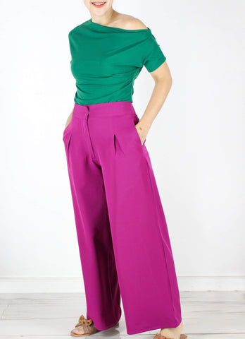 Hansel Pants in Berry