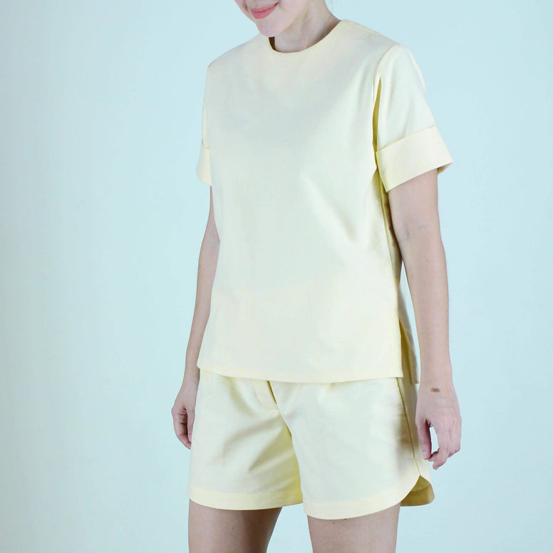 Alida Top in Yellow