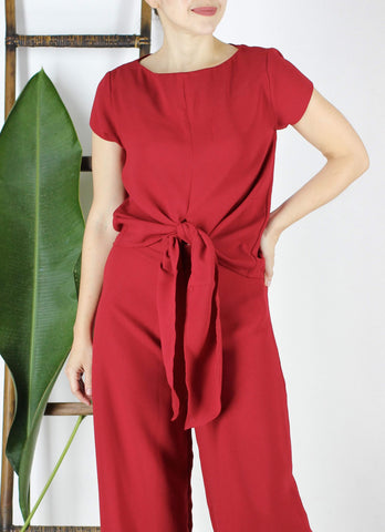 Emille Top in Red