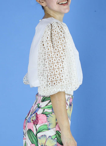 Philippa Top in White