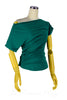 Fifi One-sided Top in Green