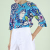 Frida Printed Top