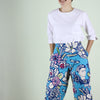 Frida Printed Cropped  Pants