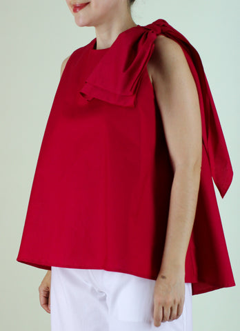 Abella Top in Red