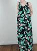 Antonella Maxi Dress in Paradise Print