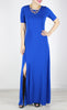 Coco Maxi Dress in Blue