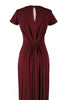 Danella Gown in Wine Red