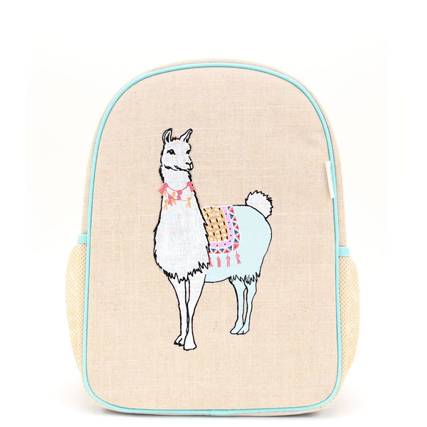 Groovy Llama Toddler Backpack
