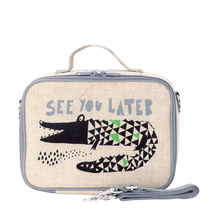 Wee Gallery Alligator Lunch Box