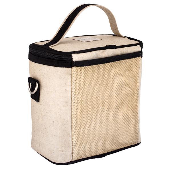 Black Camera Large Cooler Bag