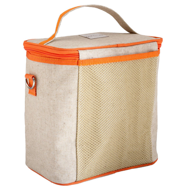 Orange Fox Large Cooler Bag