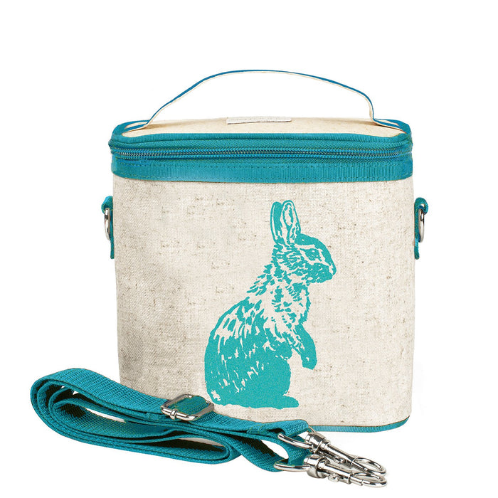 Aqua Bunny Small Cooler Bag