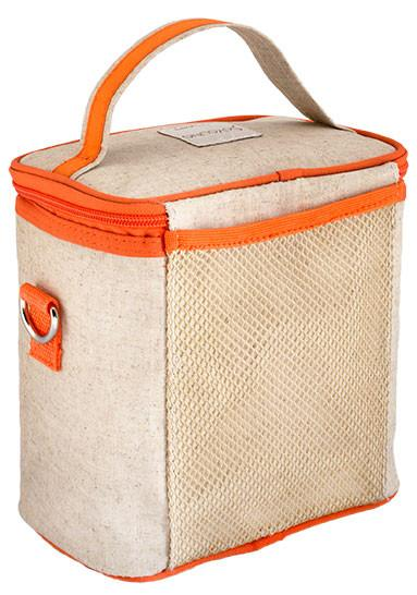 Orange Fox Small Cooler Bag