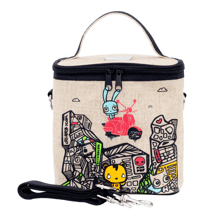 Pixopop Stitch Time Traveller Small Cooler Bag
