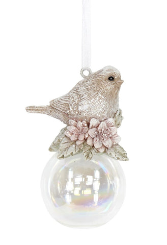 Bird on a Soap Bubble Decoration