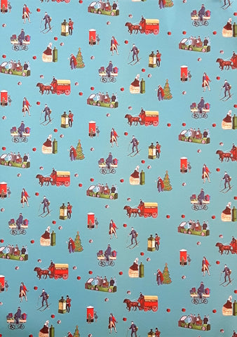 The Postal Museum Christmas Wrapping Paper