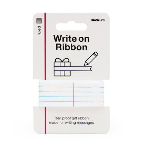 Write on Ribbon