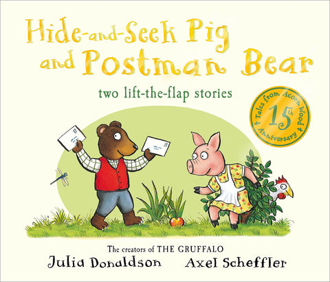 Hide-and-Seek Pig and Postman Bear