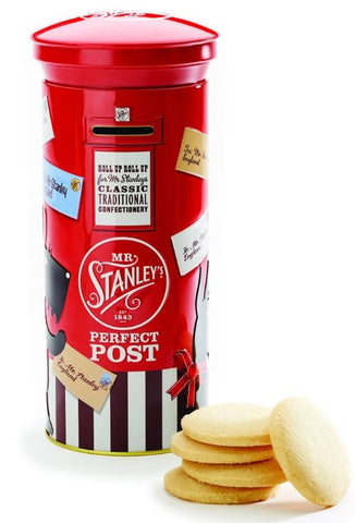 Postbox Biscuit tin