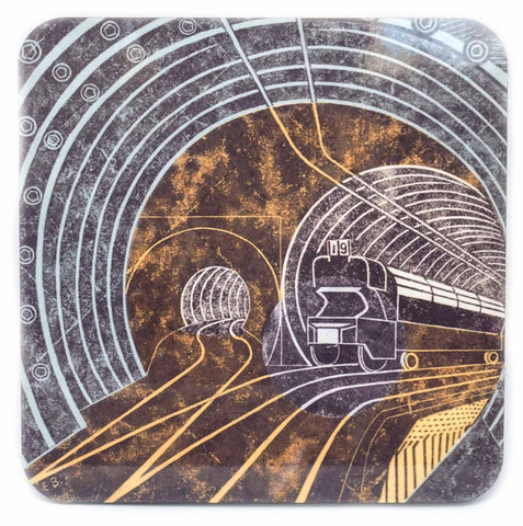 Edward Bawden coaster
