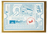 Mail Rail Souvenir ticket