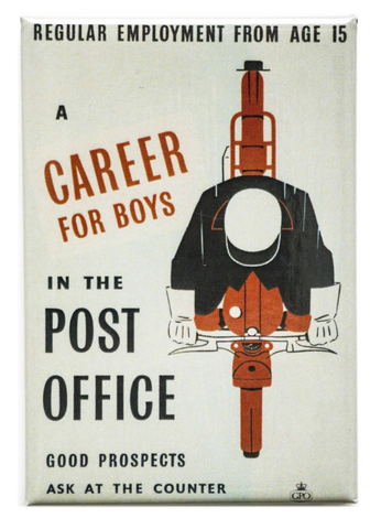 Career for Boys Magnet