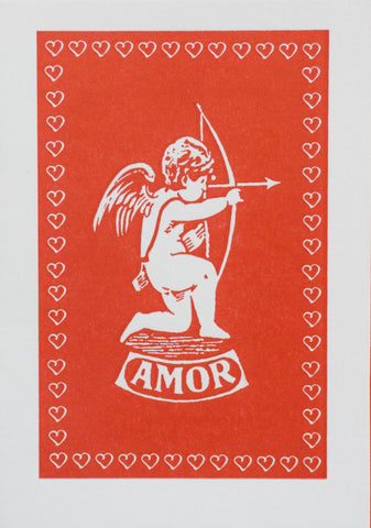 Amor Greetings Card