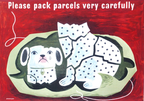 Pack Carefully Postcard
