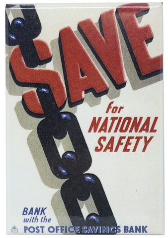 Save for National Safety Magnet