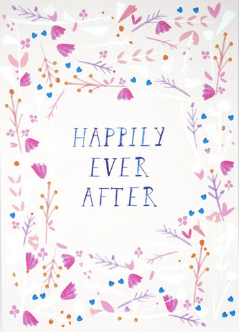 Mr Boddington Happily Ever After Greetings Card
