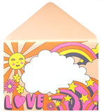 Good Vibes Greetings Card