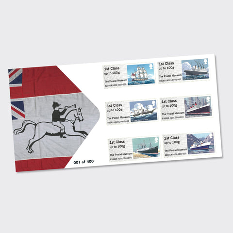 Mail by Sea First Day Cover