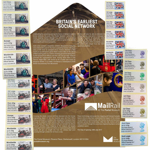 The Postal Museum Launch Presentation Pack - all designs