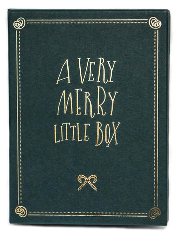 A Little Box of Hand lettered Christmas Cards