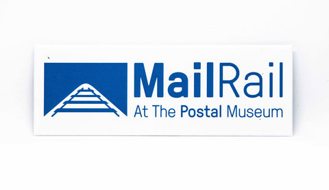 Mail Rail Fridge Magnet