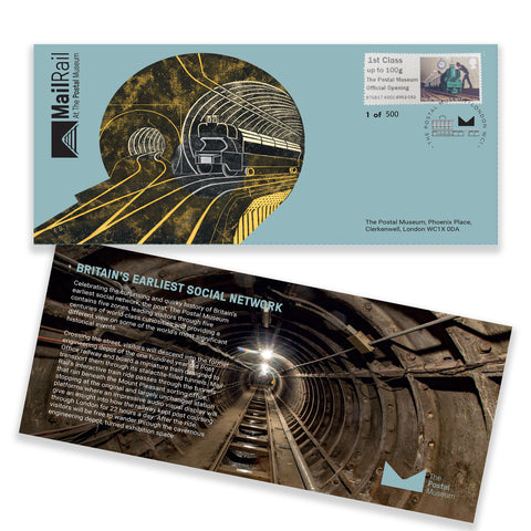 Mail Rail Launch First Day Cover