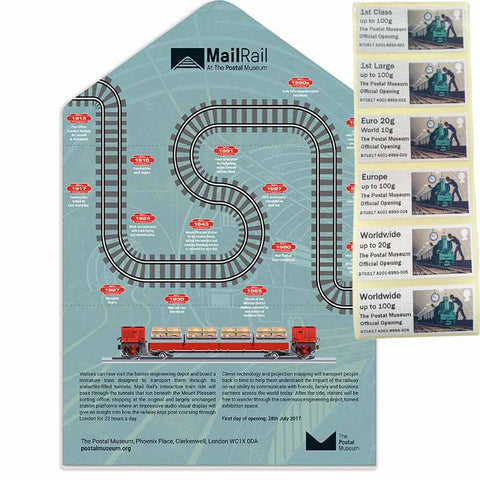 Mail Rail Launch Presentation Pack